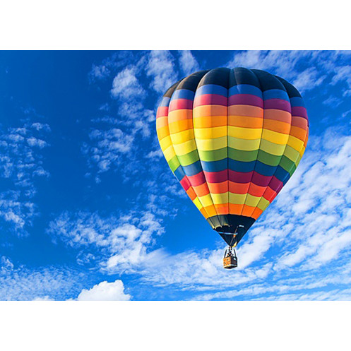 Paragliding balloon roll over